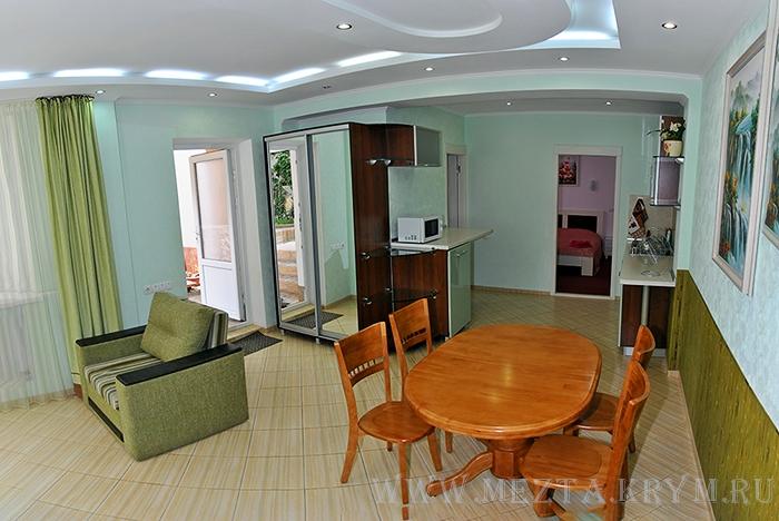 Мечта Алушта апартамент с кухней